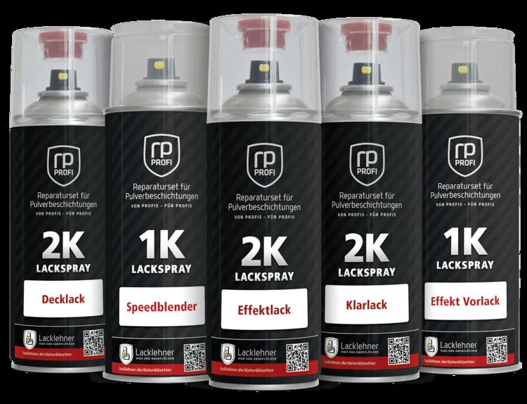 """5 Lackdosen """"rp-profi"""" für die Reparatur von Pulverlackbeschichtungen"""